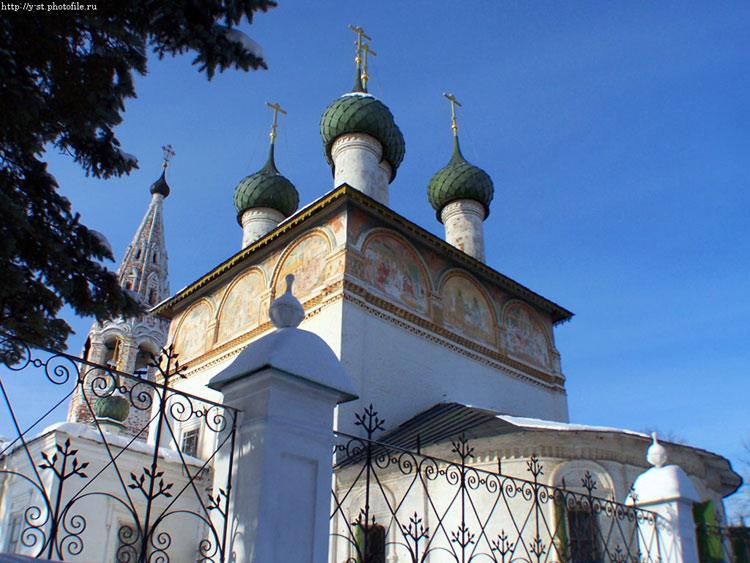 Костромская область, Нерехтский район, Нерехта. Церковь Богоявления Господня, фотография. фасады