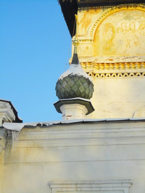 Костромская область, Нерехтский район, Нерехта. Церковь Богоявления Господня, фотография. архитектурные детали