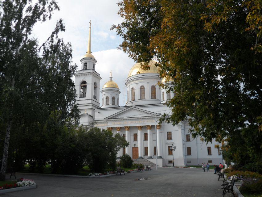 Александро-Невский Ново-Тихвинский монастырь. Собор Александра Невского, Екатеринбург