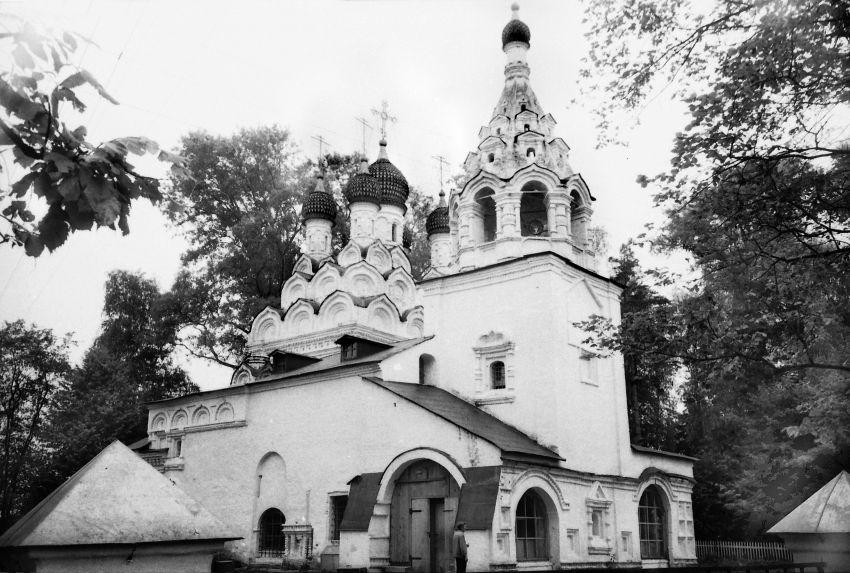 Церковь Сергия Радонежского, Комягино