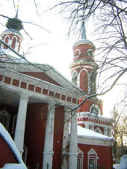 Церковь Усекновения главы Иоанна Предтечи, Афинеево