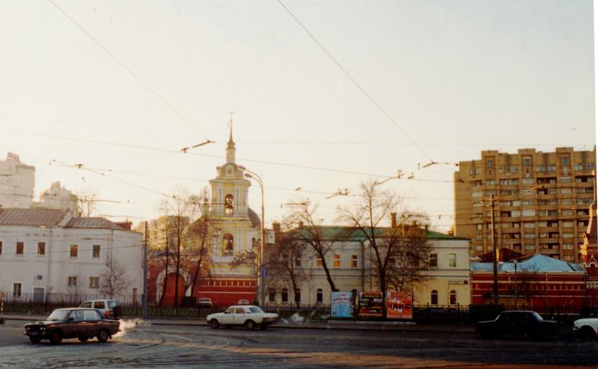г. Москва, Центральный административный округ (ЦАО), Таганский. Покровский женский монастырь, фотография. фасады