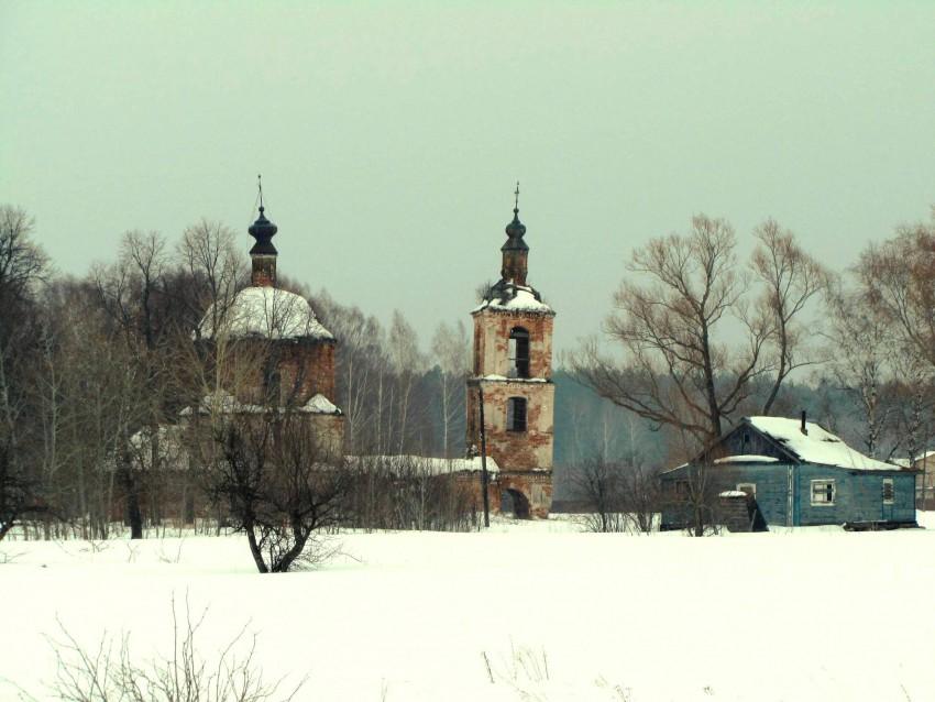Церковь Рождества Пресвятой Богородицы-Лом-Касимовский район и г. Касимов-Рязанская область