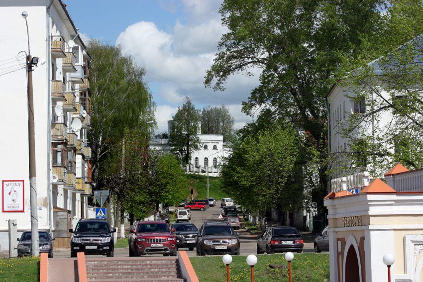 Костромская область, Кострома, город, Кострома. Церковь Иоанна Богослова, фотография. общий вид в ландшафте