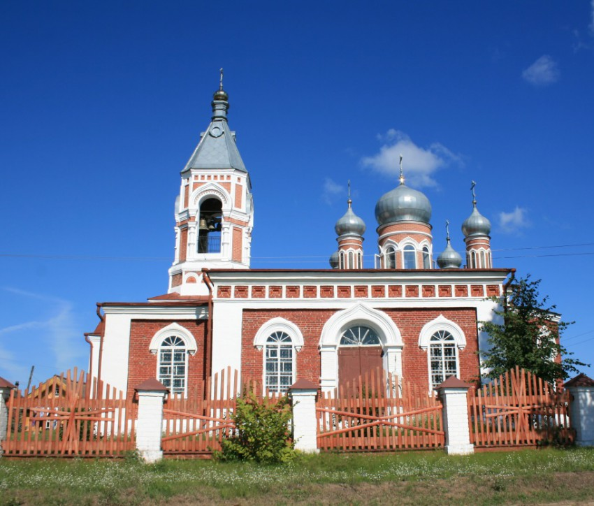 Нижегородская область, Ветлужский район, Ветлуга. Церковь Екатерины, фотография. фасады