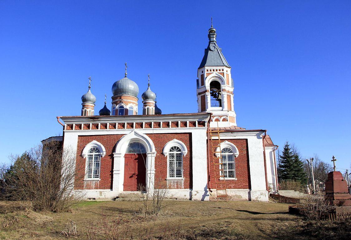 Нижегородская область, Ветлужский район, Ветлуга. Церковь Екатерины, фотография. фасады, Вид с севера.