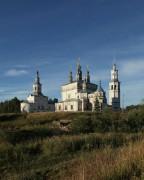 Лальск. Ансамбль Воскресенского собора с колокольней и Благовещенской церкви