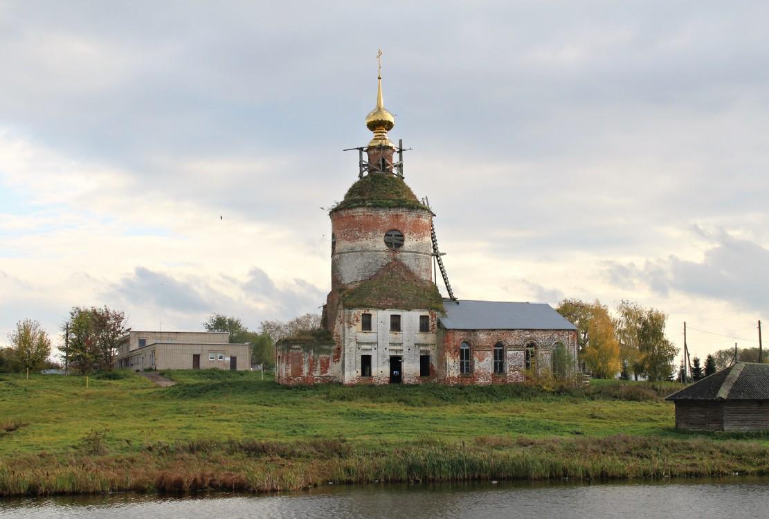 Ивановская область, Гаврилово-Посадский район, Непотягово. Церковь Димитрия Солунского, фотография.