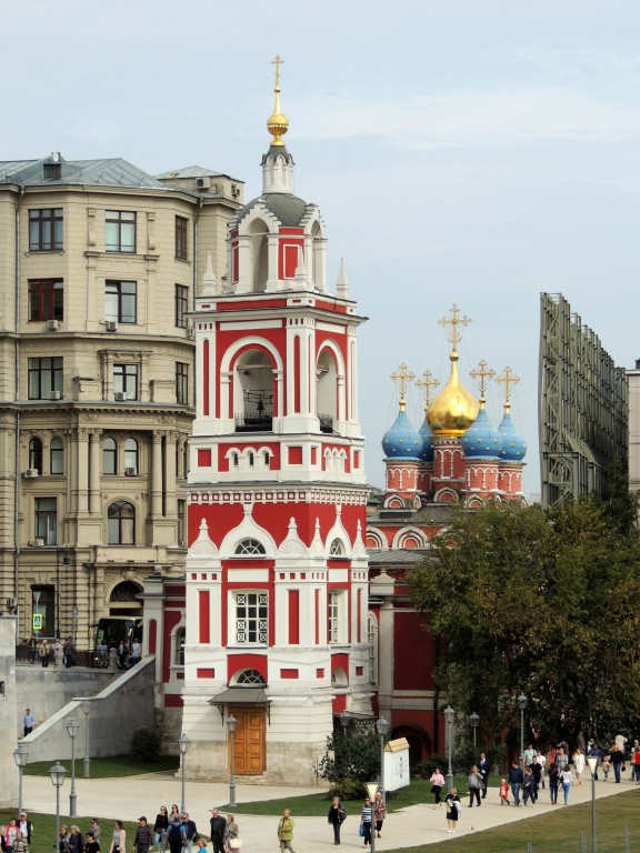 Церковь Георгия Победоносца (Покрова Пресвятой Богородицы) на Псковской горе, Москва