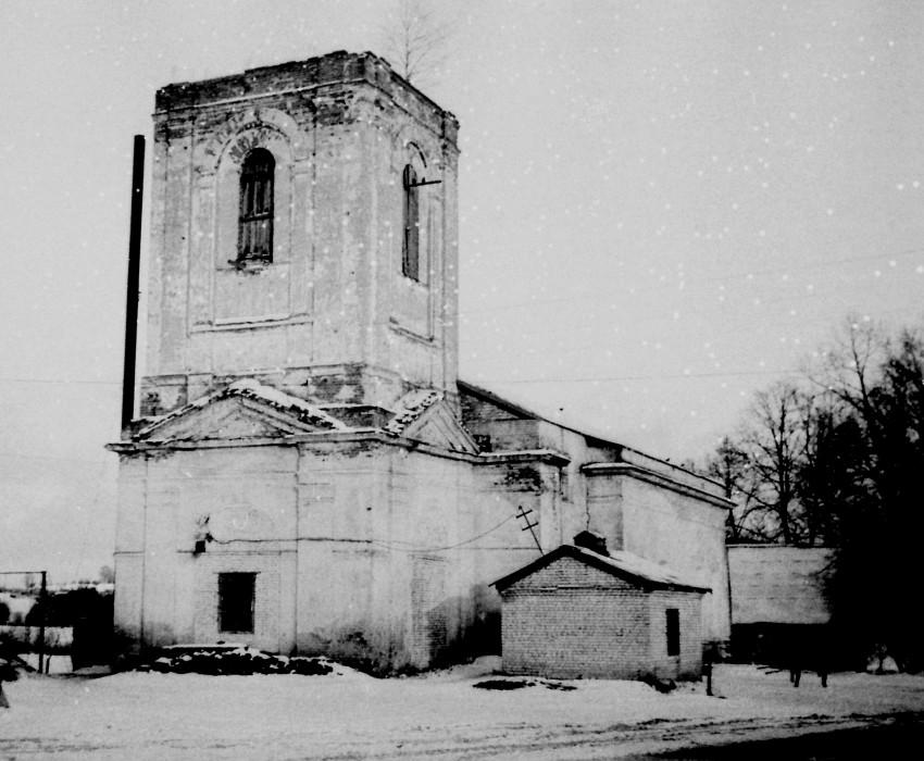 Троицкий Стефано-Махрищский женский монастырь. Церковь Троицы Живоначальной (Сергия Радонежского), Махра