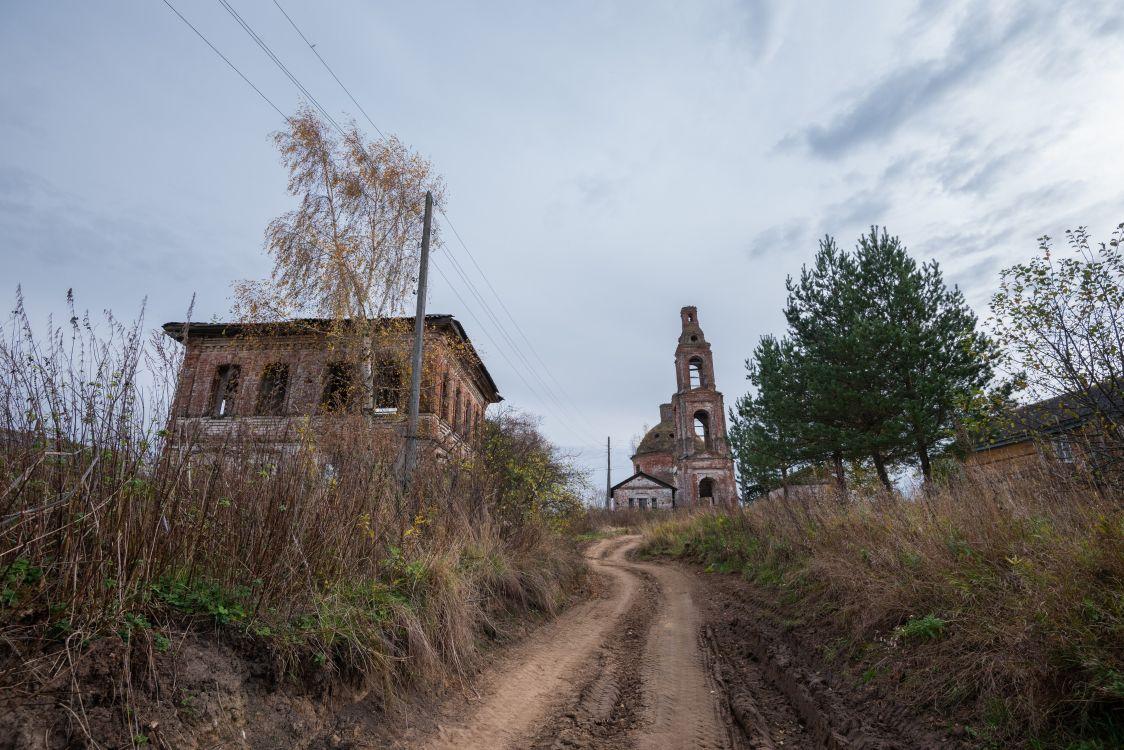 Костромская область, Сусанинский район, Головинское. Церковь Богоявления Господня, фотография.