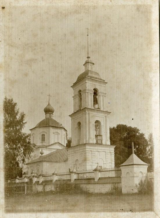 Колокольня церкви Иоанна Богослова, Октябрьский