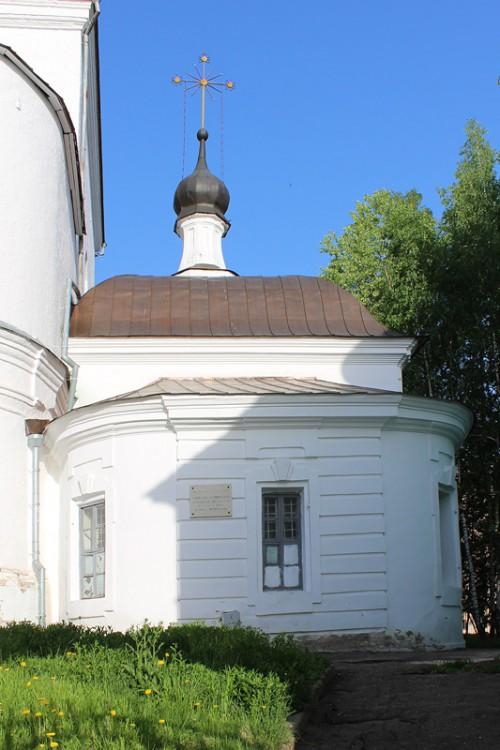 Смоленская область, Смоленск, город, Смоленск. Вознесенский монастырь. Церковь Екатерины, фотография. общий вид в ландшафте