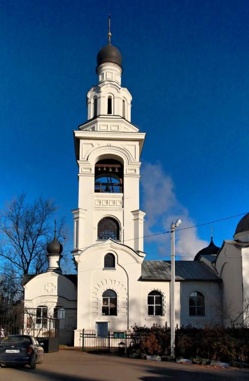 Московская область, Богородский городской округ, Электроугли. Церковь Троицы Живоначальной, фотография. фасады