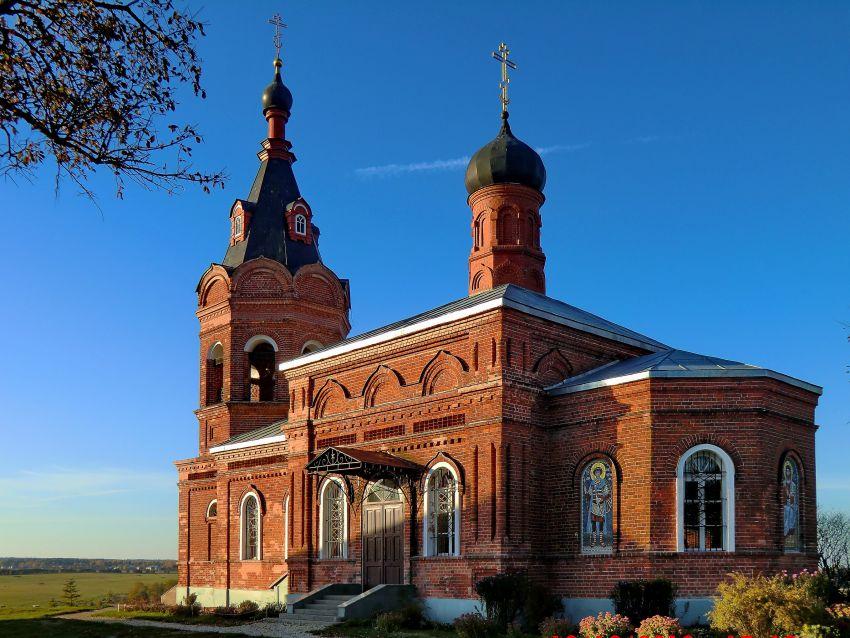 Церковь Димитрия Солунского, Дуброво