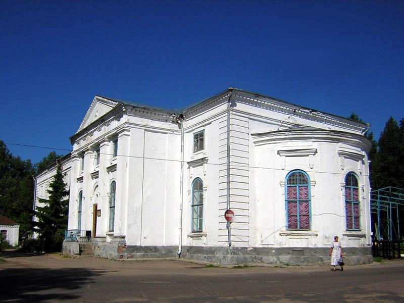 Церковь Екатерины, Крестцы