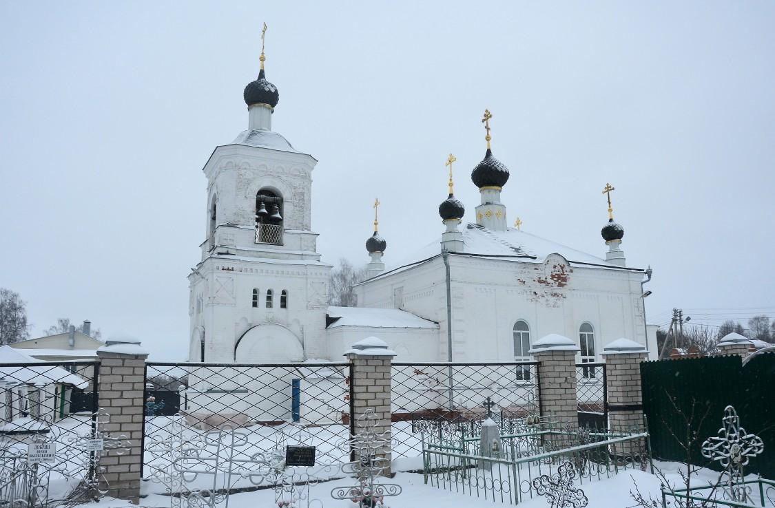 Костромская область, Красносельский район, Красное-на-Волге. Церковь Всех Святых, фотография. художественные фотографии