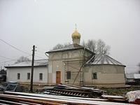 Гремячево. Лихвинский Успенский Гремячев монастырь. Церковь Георгия Победоносца