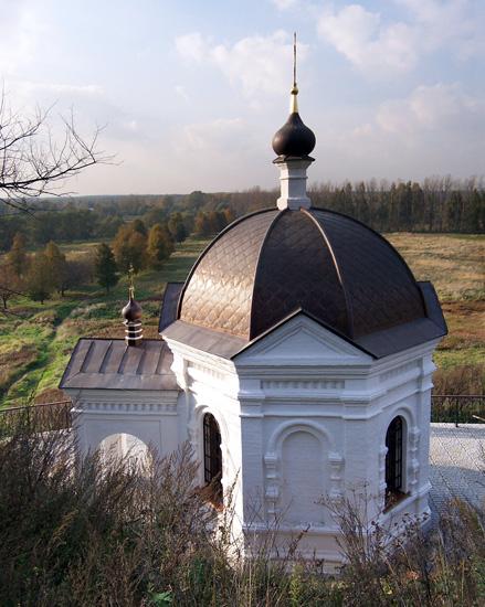 Благовещенский женский монастырь. Надкладезная часовня Сергия Радонежского (?), Киржач