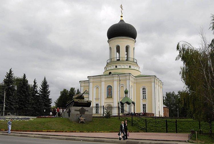 Московская область, Наро-Фоминский городской округ, Наро-Фоминск. Собор Николая Чудотворца, фотография. общий вид в ландшафте,
