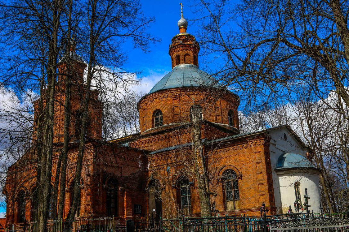 Московская область, Можайский городской округ, Дровнино. Церковь Богоявления Господня, фотография.