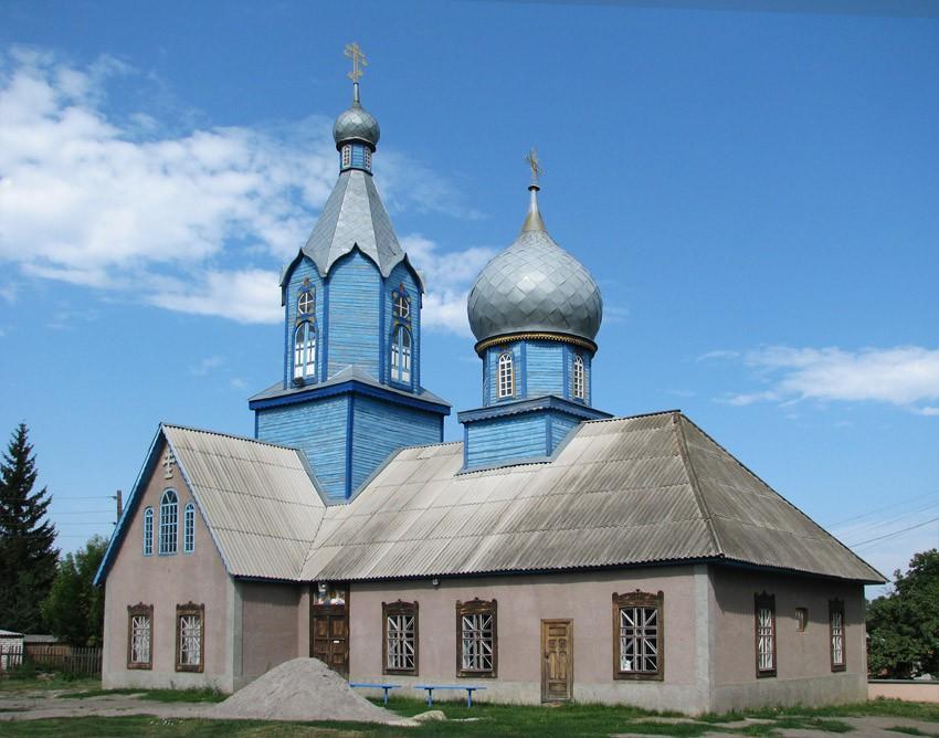 Церковь Троицы Живоначальной-Опошня-Зеньковский район-Украина, Полтавская область