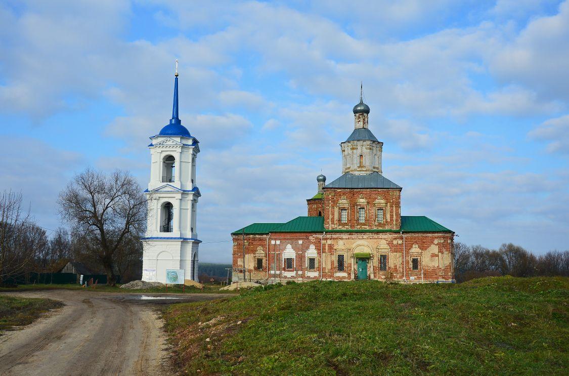 Перемышльский Шаровкин Успенский монастырь, Ильинское
