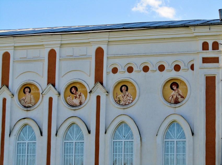 Республика Мордовия, Темниковский район, Аксел. Церковь Рождества Христова, фотография. архитектурные детали, трапезная, северный фасад (фрагмент)
