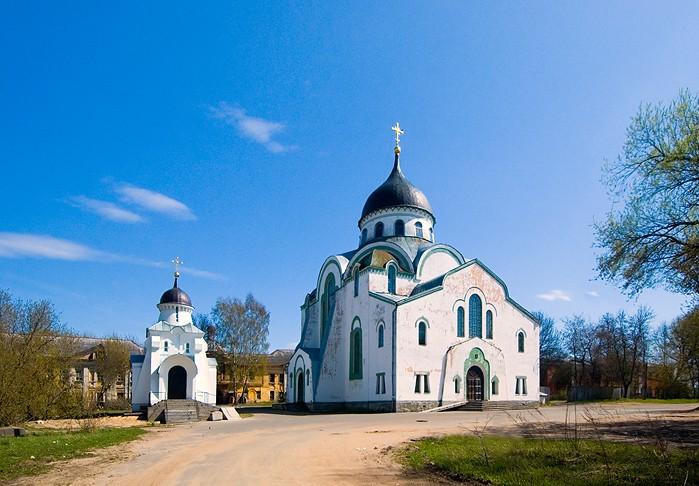 Христорождественский монастырь. Кафедральный собор Воскресения Христова, Тверь