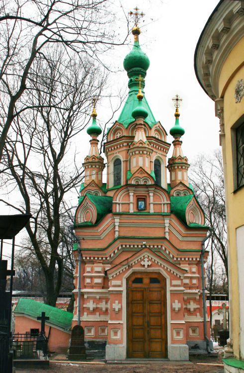 Донской монастырь. Церковь Иоанна Лествичника, Москва