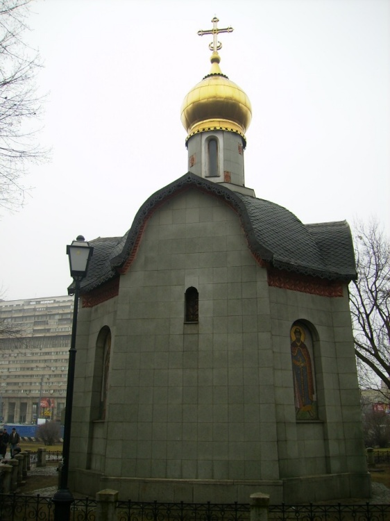 Часовня Даниила Московского на площади Серпуховской заставы, Москва