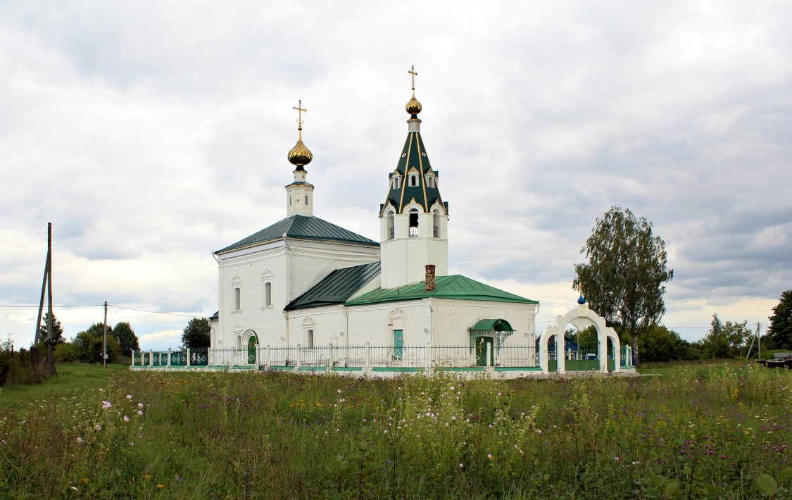 Ивановская область, Тейковский район, Стебачёво. Церковь Иоанна Богослова, фотография.