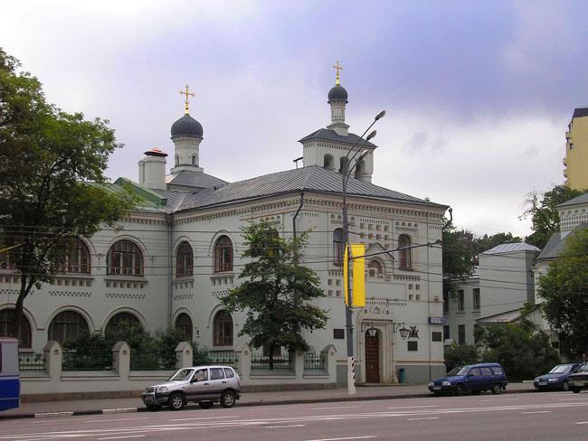 Домовая церковь Тихвинской иконы Божией Матери при ЦКБ МП, Москва