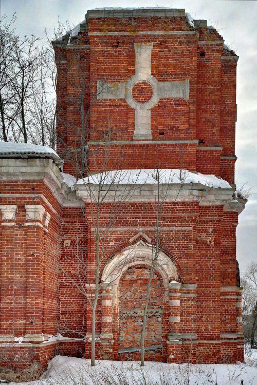 Тульская область, Венёвский район, Студенец. Церковь Георгия Победоносца, фотография. архитектурные детали