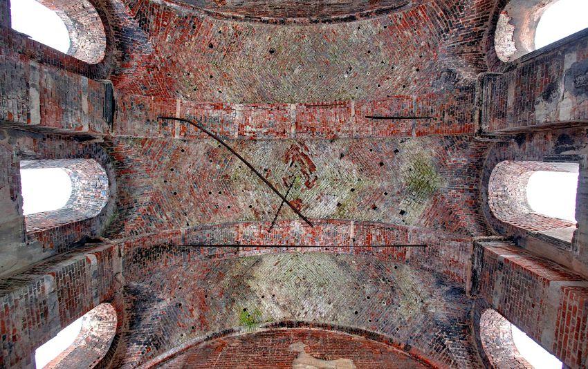 Тульская область, Венёвский район, Студенец. Церковь Георгия Победоносца, фотография. интерьер и убранство