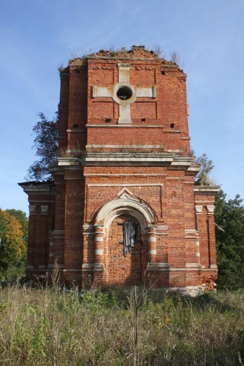 Тульская область, Венёвский район, Студенец. Церковь Георгия Победоносца, фотография. фасады