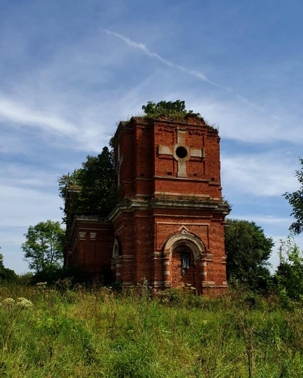 Тульская область, Венёвский район, Студенец. Церковь Георгия Победоносца, фотография.