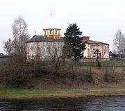 Церковь Флора и Лавра - Великий Порог - Боровичский район - Новгородская область
