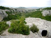 Неизвестная церковь - Черкес-Кермен, урочище - Бахчисарайский район - Республика Крым