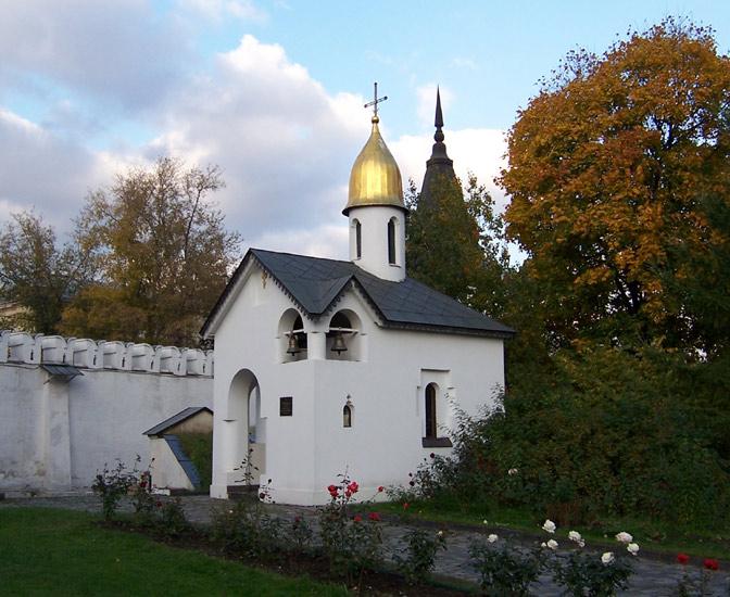 Данилов мужской монастырь. Неизвестная поминальная часовня, Москва