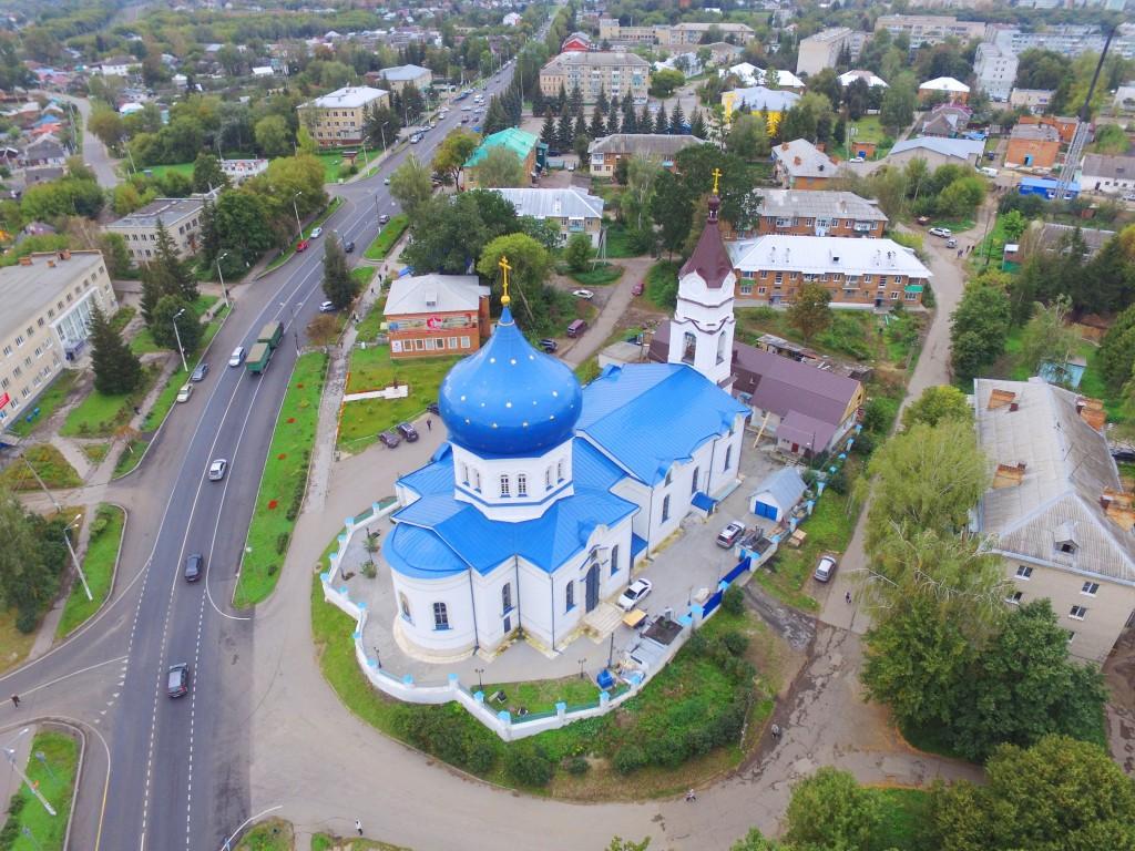 Церковь Сергия Радонежского, Плавск