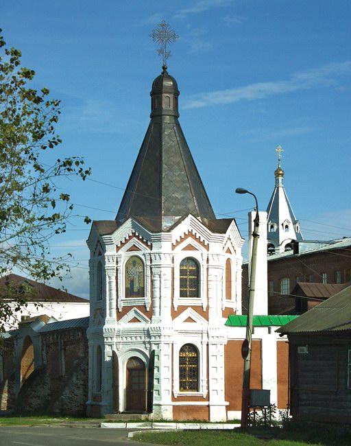 Спасский мужской монастырь. Николо-Ильинская часовня, Муром