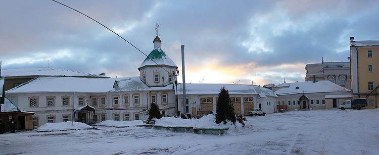 Республика Чувашия, Чебоксары, город, Чебоксары. Троицкий мужской монастырь, фотография. фасады