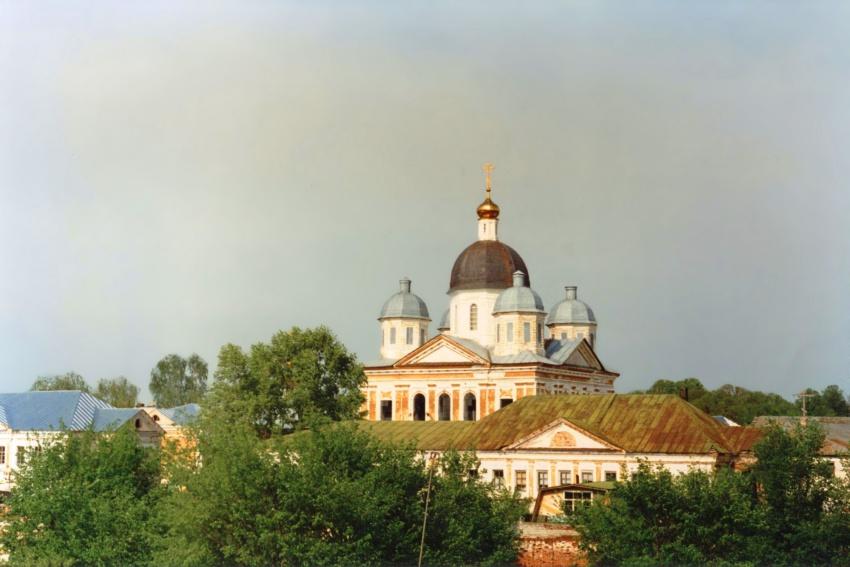 Нижегородская область, Богородский район, Оранки. Оранский Богородицкий мужской монастырь, фотография. фасады,
