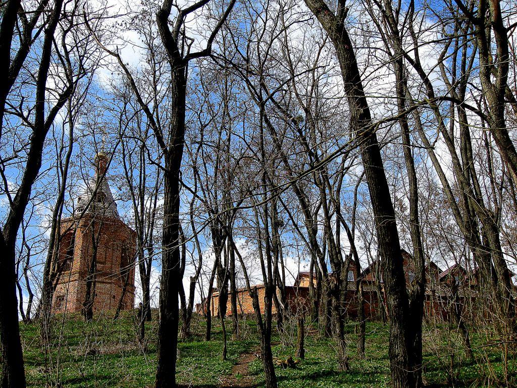 Украина, Сумская область, Ахтырский район, Ахтырка. Ахтырский Троицкий мужской монастырь, фотография.
