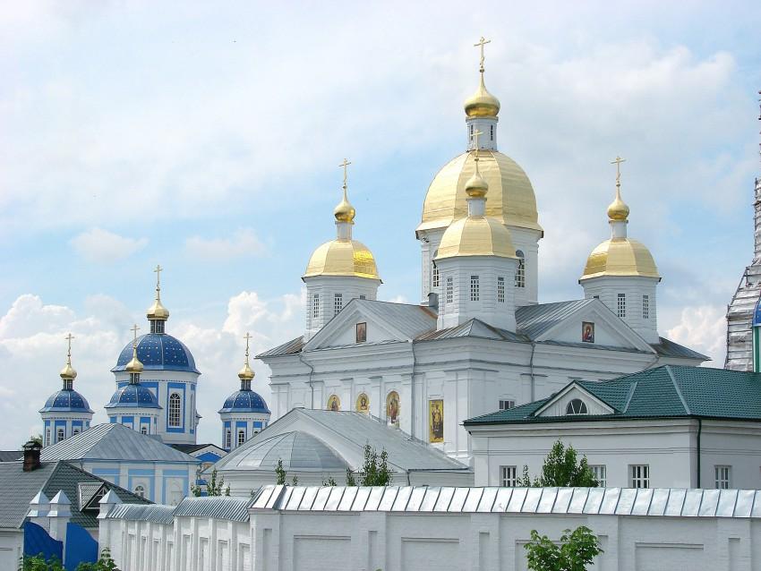 Нижегородская область, Богородский район, Оранки. Оранский Богородицкий мужской монастырь, фотография. фасады