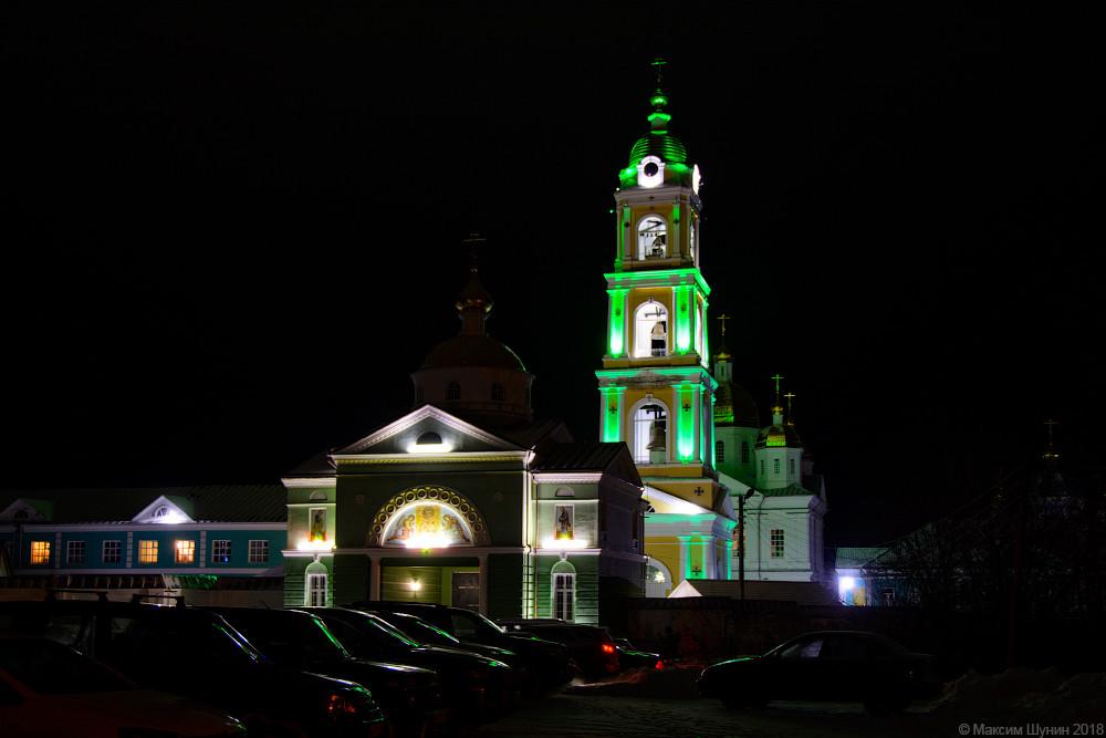 Нижегородская область, Богородский район, Оранки. Оранский Богородицкий мужской монастырь, фотография. художественные фотографии