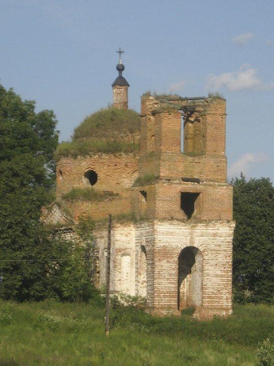 Церковь Николая Чудотворца, Елисеевичи