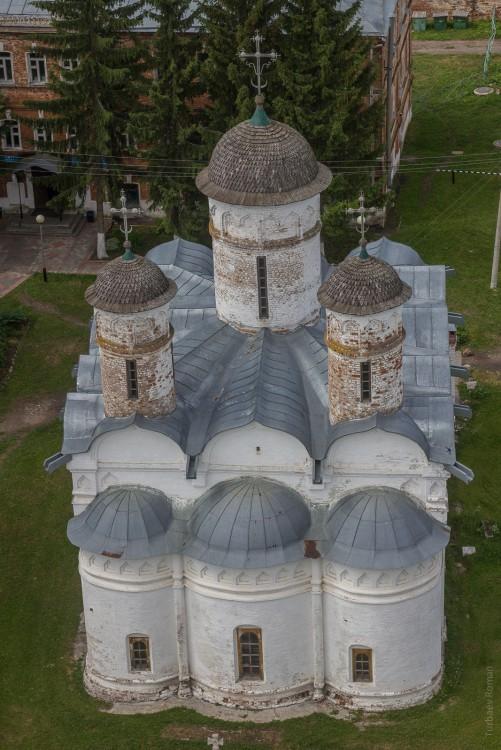 Ризоположенский монастырь. Собор Положения риз Божией Матери, Суздаль