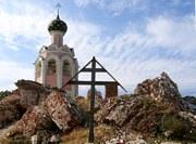 Каменный, остров. Спасо-Каменный Преображенский монастырь. Церковь Успения Пресвятой Богородицы